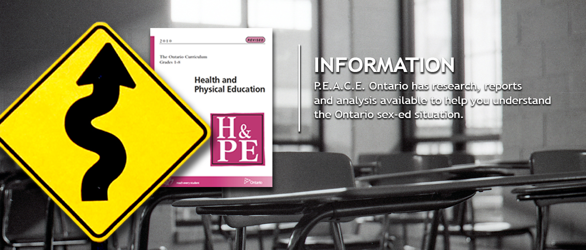 Information - PEACE Ontario